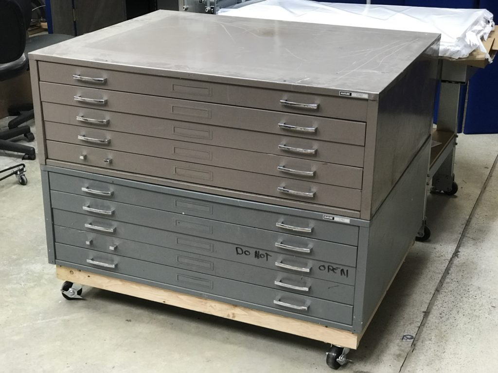 node portland with doors metal cabinet flat file drawers state surplus