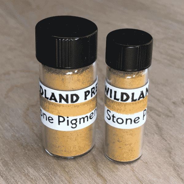 Stone Pigment Orange Ochre